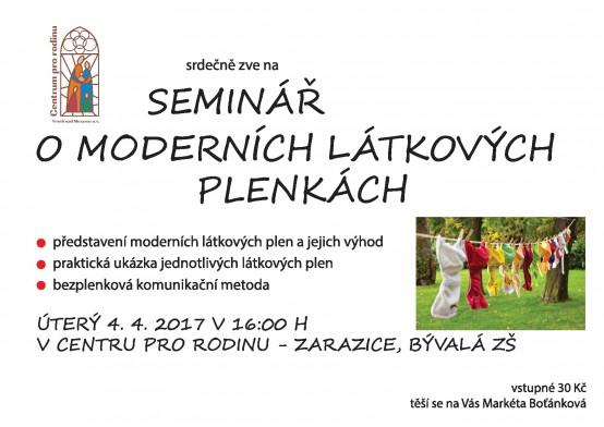 Seminar plenky
